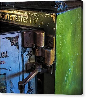 Canvas Print featuring the photograph Northwestern Safe by Paul Freidlund