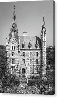 Northwestern University University Hall Full Elevation Canvas Print by University Icons