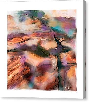 Wind Blown Tree Canvas Print - Northwinds by Bob Salo