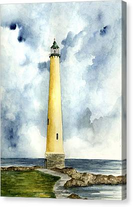 Northwood Lighthouse Canvas Print by Michael Vigliotti