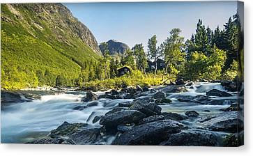 Norway II Canvas Print by Thomas M Pikolin
