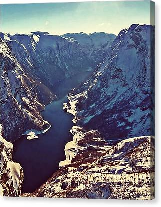 Norway Mountains Canvas Print