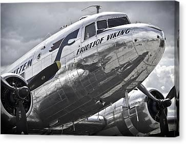 Norwegian Douglas D C-3 Aircraft Canvas Print