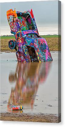 Canvas Print featuring the photograph Nose Dive by Stephen Stookey