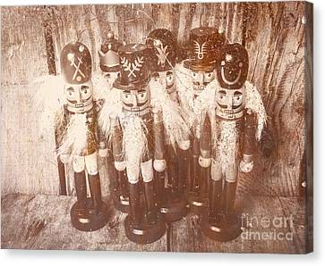 Doll Canvas Print - Nostalgic Childhood Mementos by Jorgo Photography - Wall Art Gallery