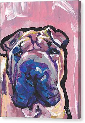 Not A Hippo- Just Hip Canvas Print