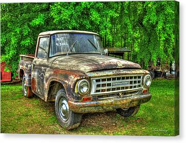 J.p Canvas Print - Not For Sale 1965 International Pickup Truck by Reid Callaway