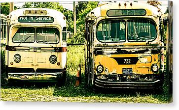 Not In Service Canvas Print by Karl Anderson