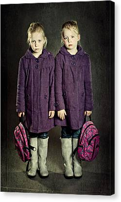 Not In The Mood For School! Canvas Print