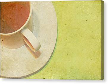 Not Starbucks II Canvas Print by Rebecca Cozart