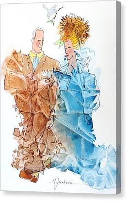 Canvas Print - Not Yet Empty Nesters by Marilyn Jacobson
