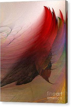 Nothing Lasts Canvas Print by Karin Kuhlmann
