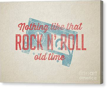 Nothing Like That Old Time Rock N Roll Wall Art Canvas Print by Edward Fielding