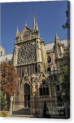 Notre Dame Cathedral  Canvas Print by Patricia Hofmeester