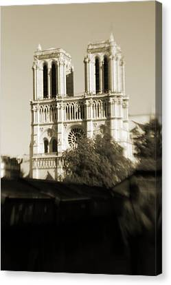 Notre Dame De Paris Canvas Print by Alison Stevenson