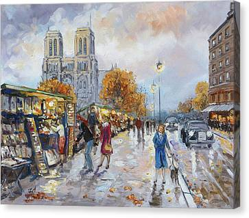 Canvas Print - Notre Dame, Paris by Irek Szelag