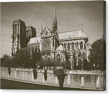 Notre Dame Canvas Print by Saint Cloud
