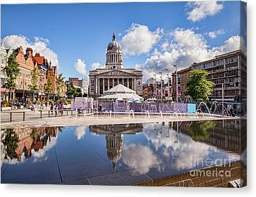 Nottingham, England Canvas Print by Colin and Linda McKie