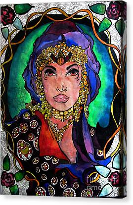 Nouveau Canvas Print by Amy Williams