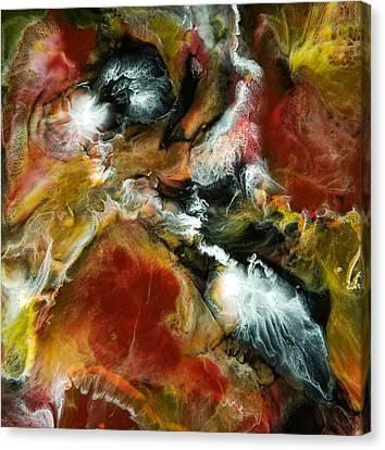 Canvas Print featuring the painting Nova by Christie Minalga