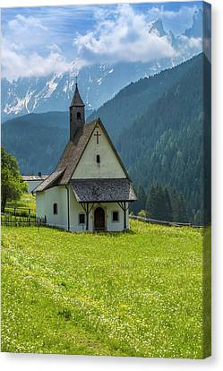 Nova Levante Chapel Canvas Print by Melanie Viola