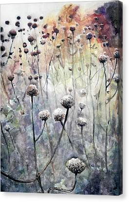 November Canvas Print by Arleana Holtzmann