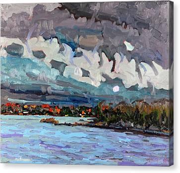 November Virga Canvas Print by Phil Chadwick