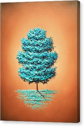 November's Prelude Canvas Print by Rachel Bingaman