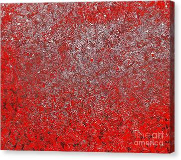 Now It's Red Canvas Print by Rachel Hannah