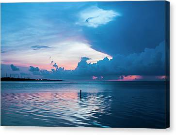 Now The Day Is Over Canvas Print