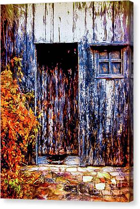 Abandoned Houses Canvas Print - Nowhere Somewhere by Mona Stut