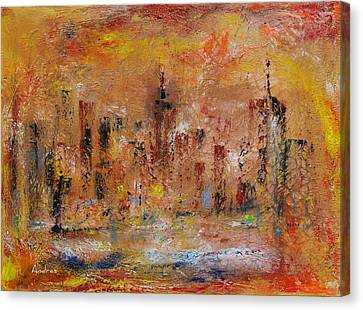 City Of Dreams  Canvas Print by Andres Gonzalez