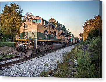 Southern Indiana Canvas Print - Ns Heritage Reading Lines Heritage Unit At Sullivan In by Jim Pearson