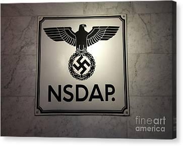 Chris Evans Canvas Print - Nsdap Sign  by Chris Evans