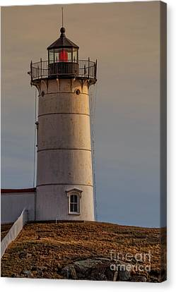 Nubble Light - Cape Neddick, York, Maine. Canvas Print by Edward Fielding