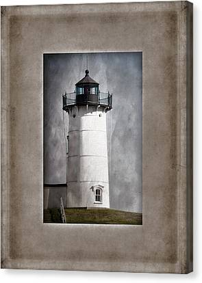 Nubble Light Maine Canvas Print by Carol Leigh