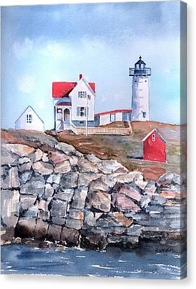 Nubble Lighthouse - Maine Canvas Print