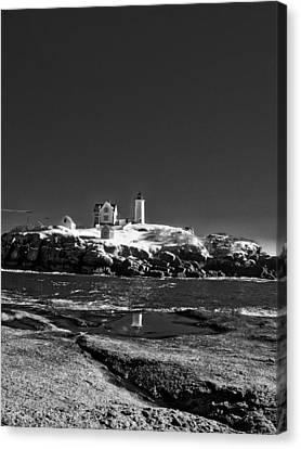 Nubble Lighthouse - York - Maine Canvas Print