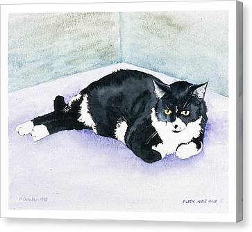 Nubby Canvas Print by Eileen Hale