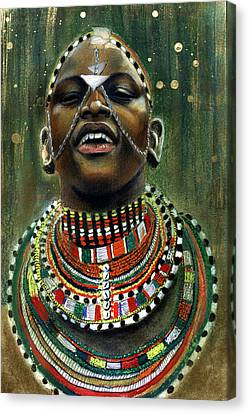 Nubian Dream Canvas Print by Gary Williams