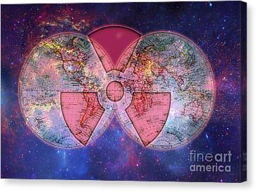 Nuclear Dependence Canvas Print by George Mattei