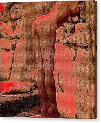 Nude 057 Canvas Print by Piety Dsilva