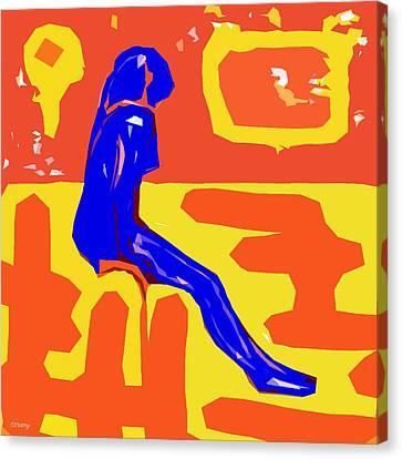 Nude 16 Canvas Print by Patrick J Murphy