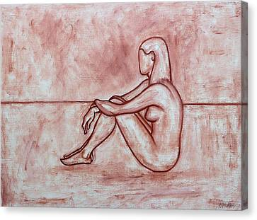 Nude 26 Canvas Print by Patrick J Murphy