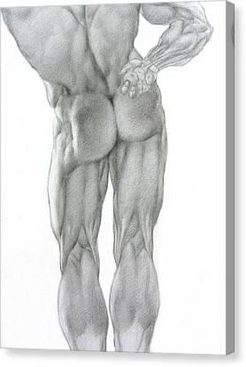 Nude 2b Canvas Print by Valeriy Mavlo