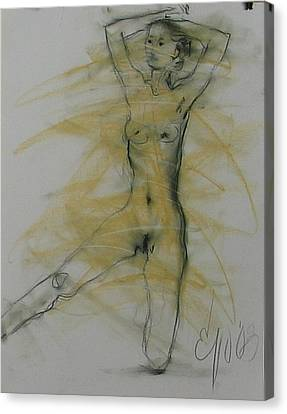 Nude 3 Canvas Print