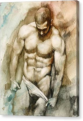 Nude 49 Canvas Print