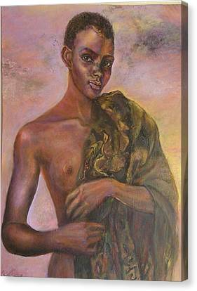 Nude 5 Canvas Print