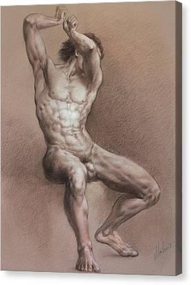 Nude 9 Canvas Print