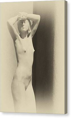 Nude Canvas Print by Carolyn Dalessandro